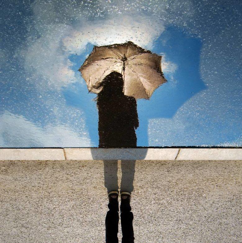 czasem słońce czasem deszcz